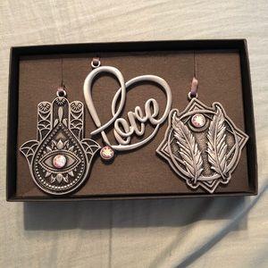 Set of 3 Alex and Ani Ornaments